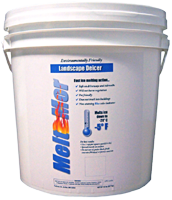 Meltmor deicing products are safe for sidewalks, driveways, children, pets and vegetation.